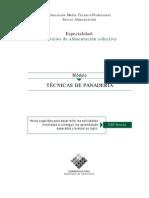 TECNICAS DE PANADERIA