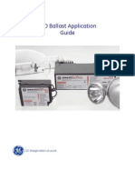 GE HID Ballast Application Guide