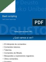 Bash Scripting 2011