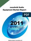 China Household Audio Equipment Market Report