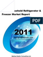China Household Refrigerator Freezer Market Report