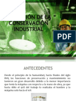 Evolucion de la Conservación Industrial