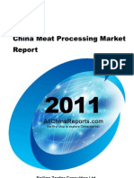 China Meat Processing Market Report