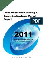 china mechanized farming gardening machines market repo…
