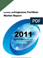 China Nitrogenous Fertilizer Market Report