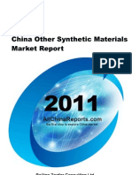 China Other Synthetic Materials Market Report
