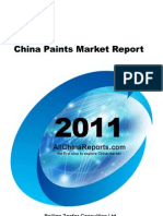 China Paints Market Report