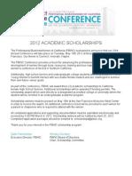 2012 Scholarship Final