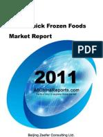 China Quick Frozen Foods Market Report