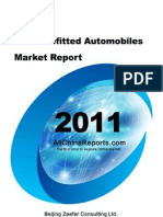 China Refitted Automobiles Market Report