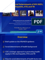 CDC Approach on Action to SDH to Aids and TB -30sept2010
