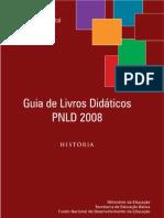 Livro  de história MEC