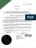 Filed Federal Court Claim Terra Incognita