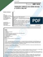 4036235 Nbr 14039 Comentada Instalacoes Eletrica de Media Tensao
