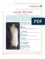 Chevron Rib Tank-A