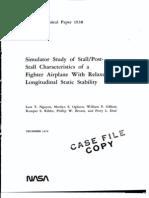 F-16 Flight Model