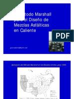 (1) El Ensayo Marshall