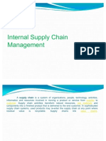 Internal Supply Chain Mgt