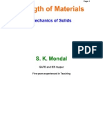 1. Strength of Materials Objective and Conventional by S K Mondal
