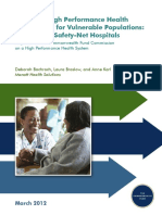 Funding Safety Net Hospitals