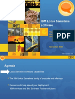 IBM Lotus Sametime Software--Nov2008