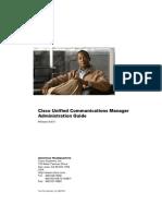 CUCM Admin Guide release 8.6.1