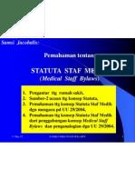 Med Staff Bylaws