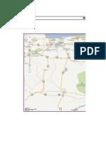 Mapa Campos Petroliferos y Urbanizacion Ciudad El Paso