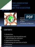 Organization Associated With Biodiversity Organization-methodology for Execution Iucn[2][1][1]