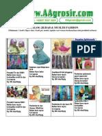 Jual Grosir Jilbab Kerudung Pashmina baju muslim fashion Model Terbaru 2012 Www.aagrosir.com Katalog 12 Maret