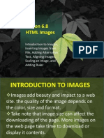 Lesson 6.8 HTML Images