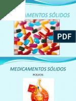 MEDICAMENTOS SÓLIDOS
