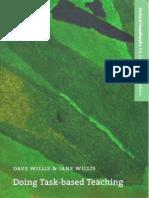 'Doing Task-Based Teaching' - Willis Dave, Willis Jane
