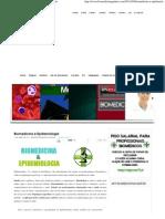 Biomedicina e Epidemiologia _ Biomedicina Padrão