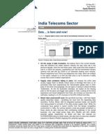 CS India Telecom Sector 2011