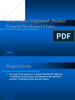 BCG Matrix Explained- Product Fitment(Neelkamal Chair)