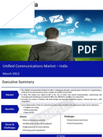 Market Research Report :Unified Communications Market  India 2012
