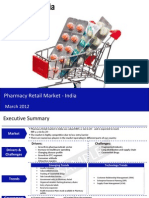 Market Research Report :Pharmacy Retail Market in India 2012
