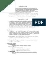 17. Perioperative Care I