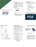 USB_Link Quick Start Card 4_0 Version