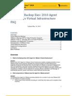 Backup Exec 2010 VMware FAQ