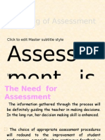 A. Assessment and Evaluation