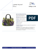 Freeform Yarn Market Bag