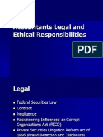 Accountants Legal and Ethical Responsibilities