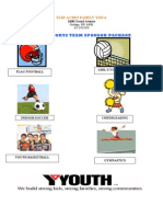 YMCA_Youth Sports Team Sponsor Package