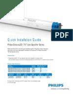 Philips EnduraLED T8 Tube LED Light Installation Guide