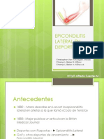 Epicondilitis Lateral en Deportistas