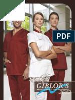 Giblor's - catalogo abbigliamento medicale 2012