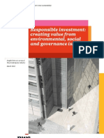 Private Equity Survey Sustainability