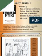 Loyalty Myths-truth 1 (PPT)